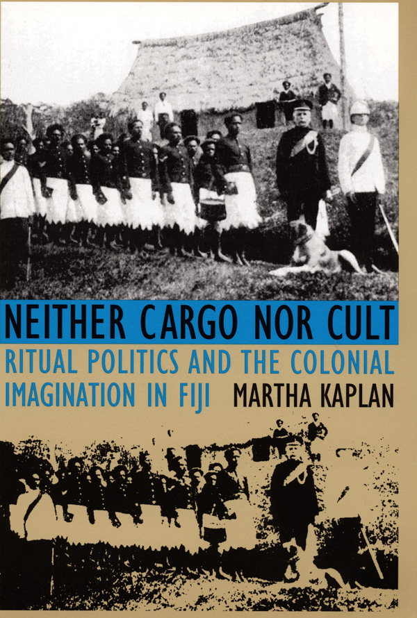 Neither Cargo nor Cult