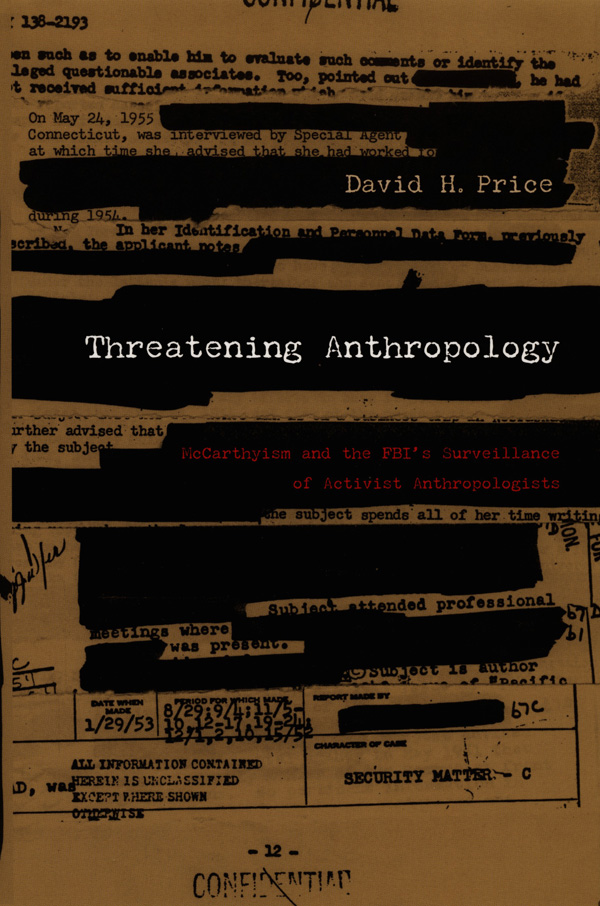 Threatening Anthropology
