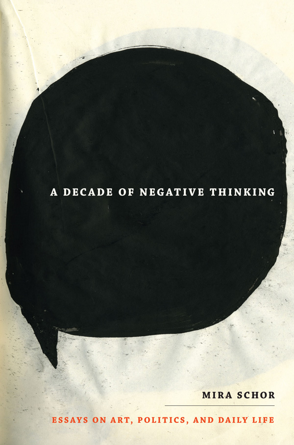 A Decade of Negative Thinking