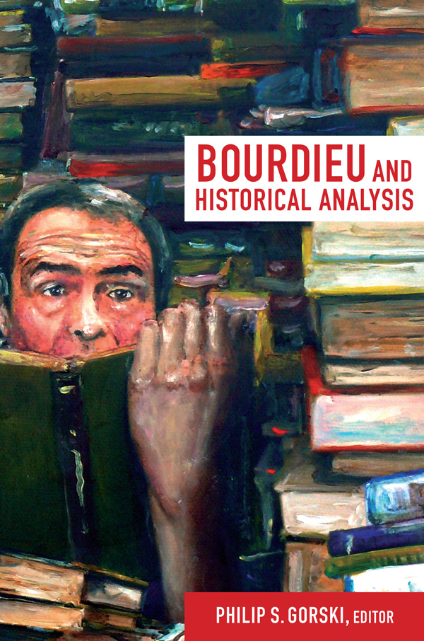 Bourdieu and Historical Analysis