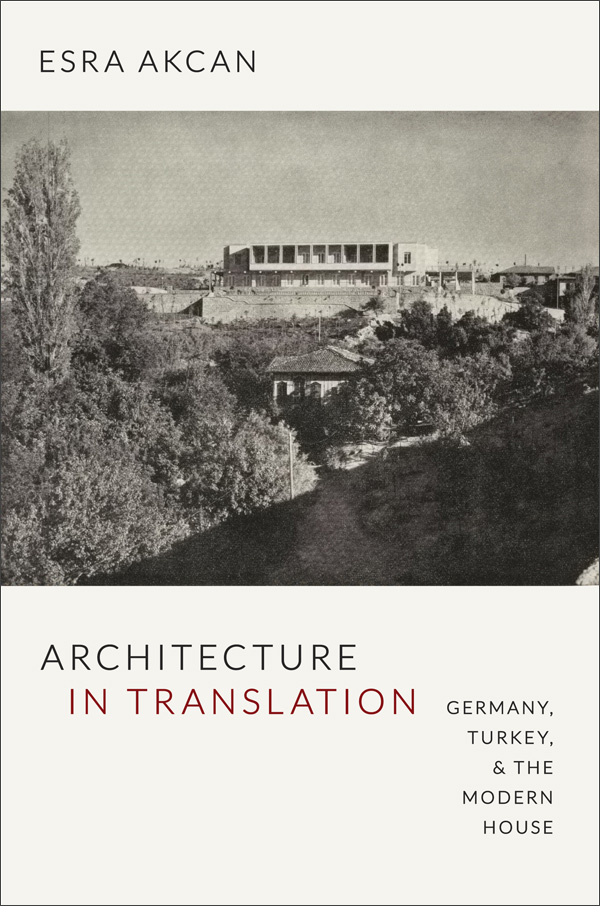 Architecture in Translation