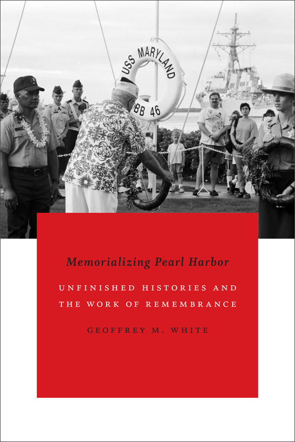 Memorializing Pearl Harbor