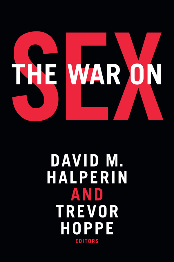 The War on Sex