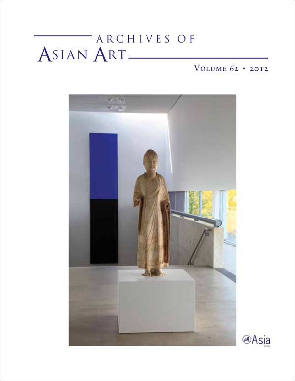 Archives of Asian Art 62:1