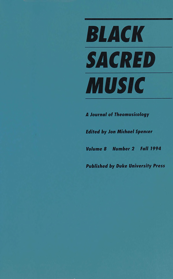 Black Sacred Music