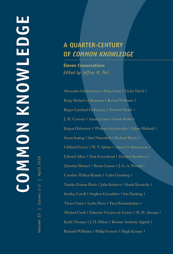 A Quarter-Century of Common Knowledge251-3