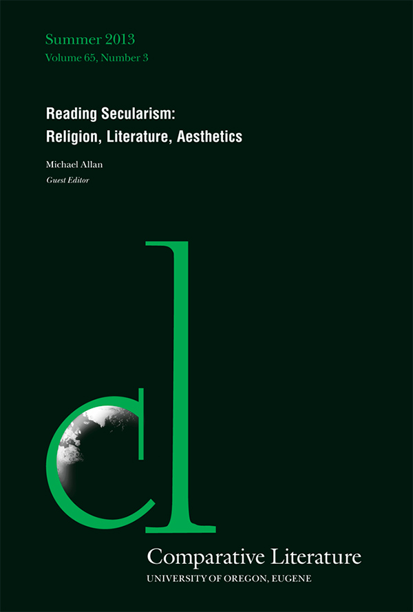 Reading Secularism: Religion, Literature, Aesthetics