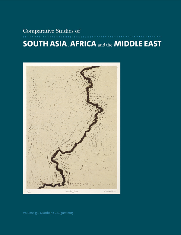Comparative Studies of South Asia, Africa and the Middle East 35:2