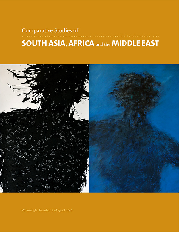Comparative Studies of South Asia, Africa and the Middle East 36:2