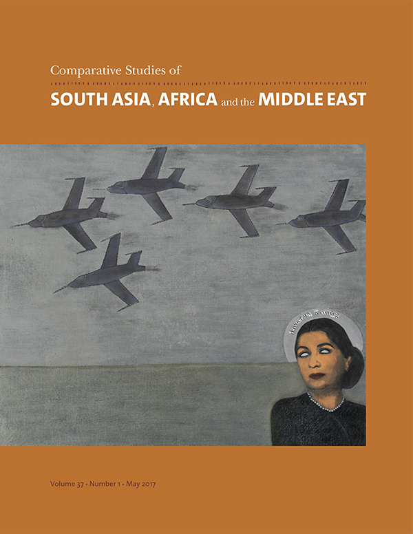 Comparative Studies of South Asia, Africa and the Middle East 37:1