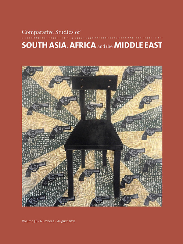 Comparative Studies of South Asia, Africa and the Middle East 38:2