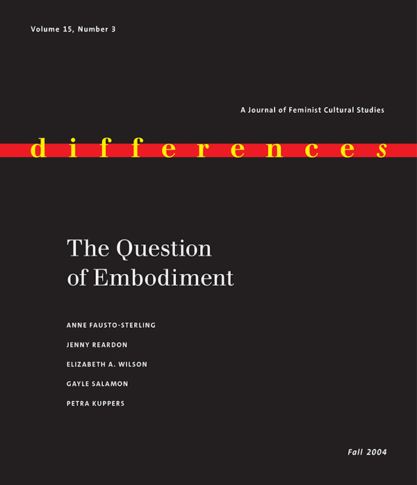 The Question of Embodiment