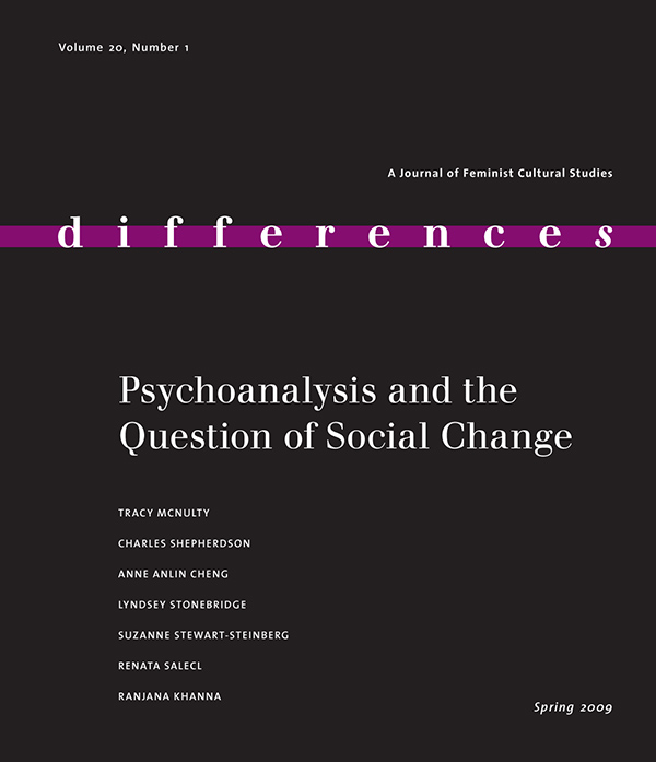 Psychoanalysis and the Question on Social Change
