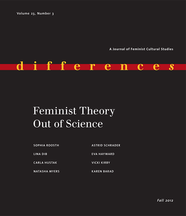 Feminist Theory Out of Science