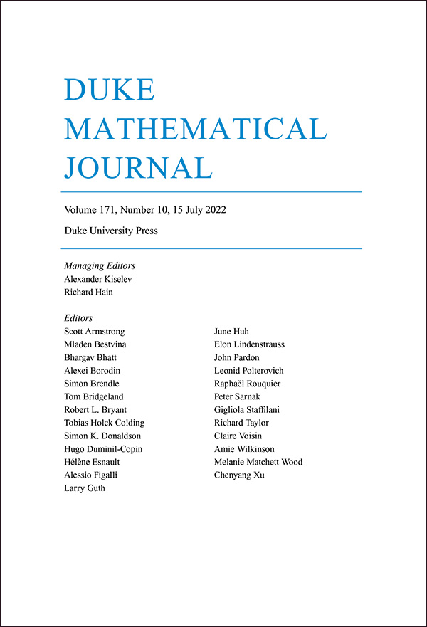 Duke Mathematical Journal - Mathematics