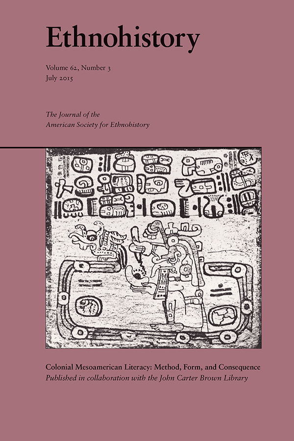 Colonial Mesoamerican Literacy: Method, Form, and Consequence623