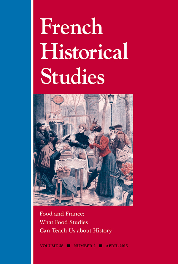 Food and France: What Food Studies Can Teach Us about History