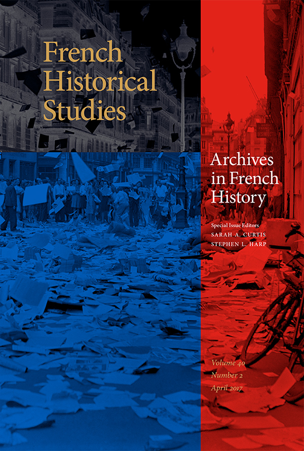 Archives in French History