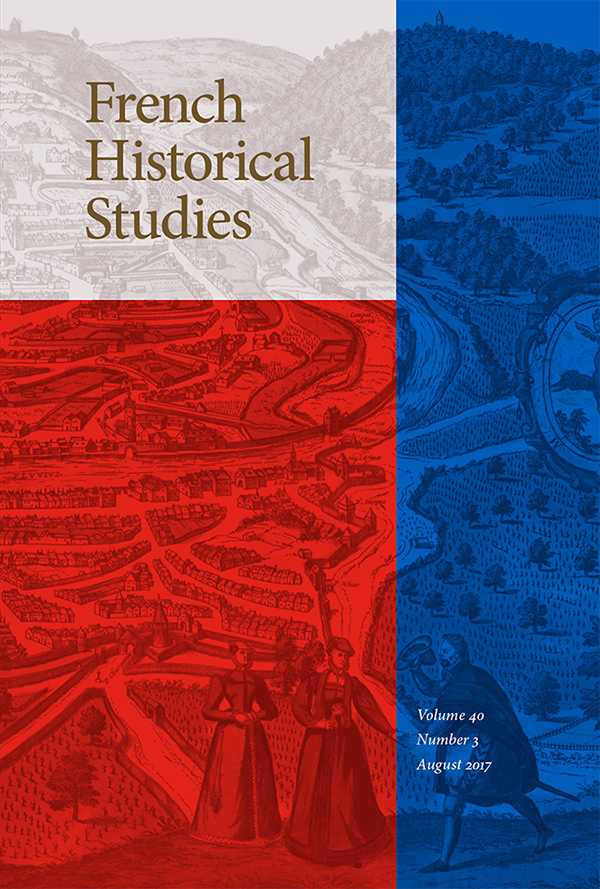 Forum: Communities and Religious Identities in the Early Modern Francophone World, 1550-1700403