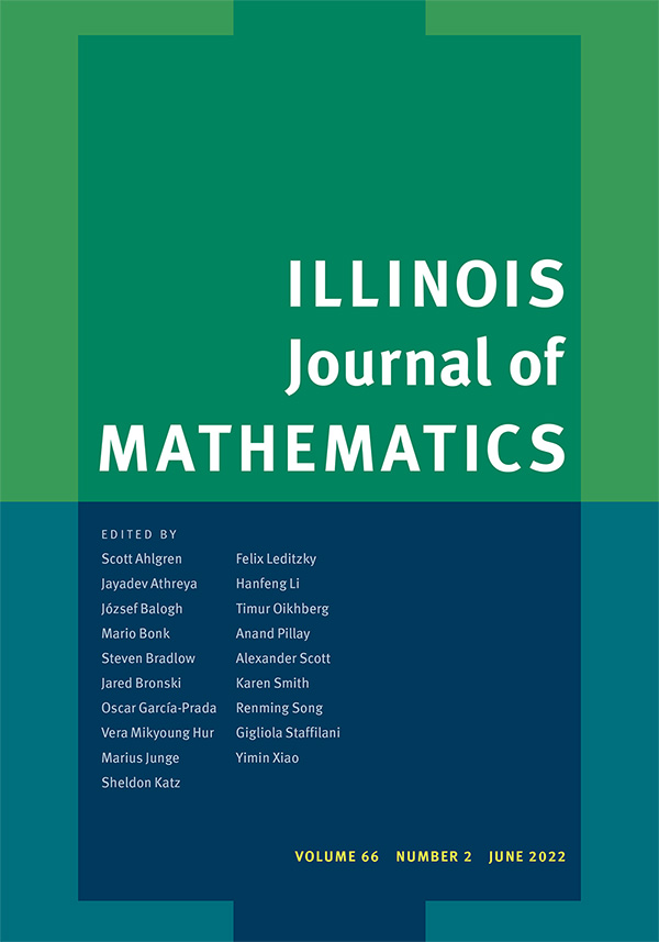 Illinois Journal of Mathematics - Mathematics