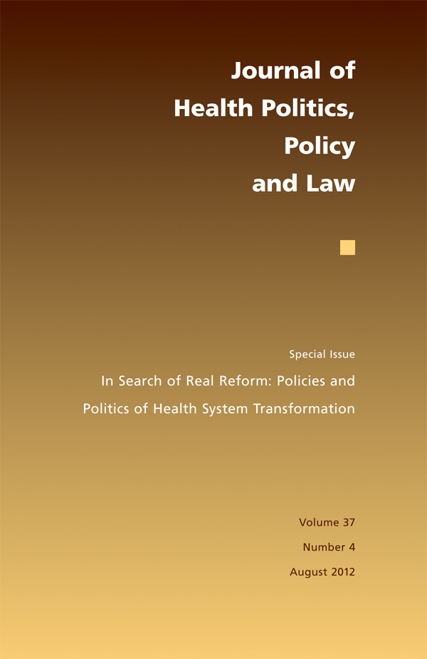 In Search of Real Reform: Policies and Politics of Health System Transformation374