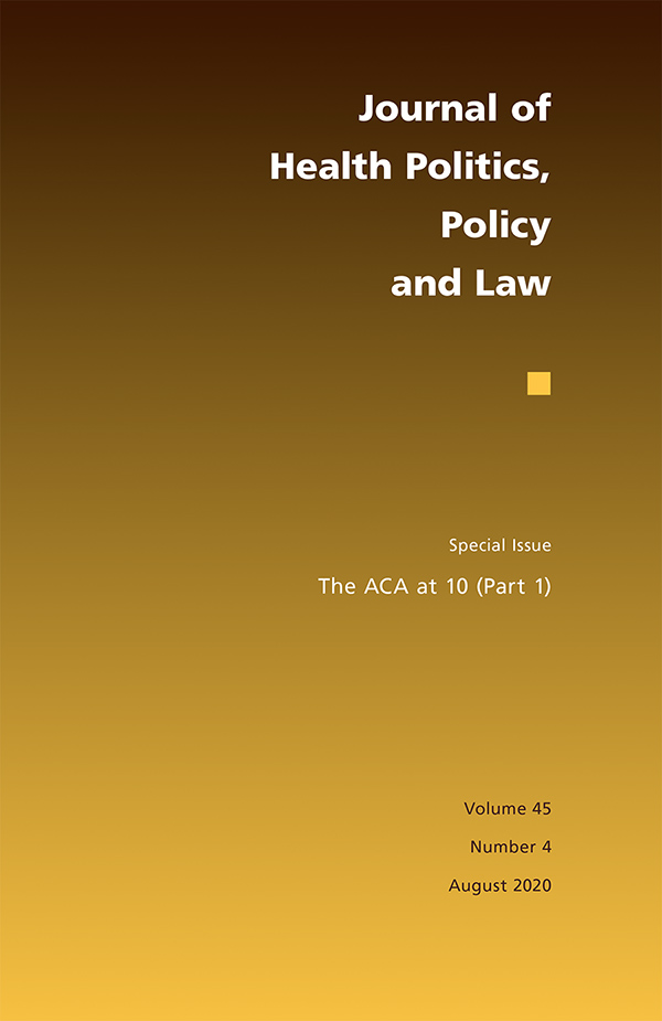 The ACA at 10 (Part 1)454