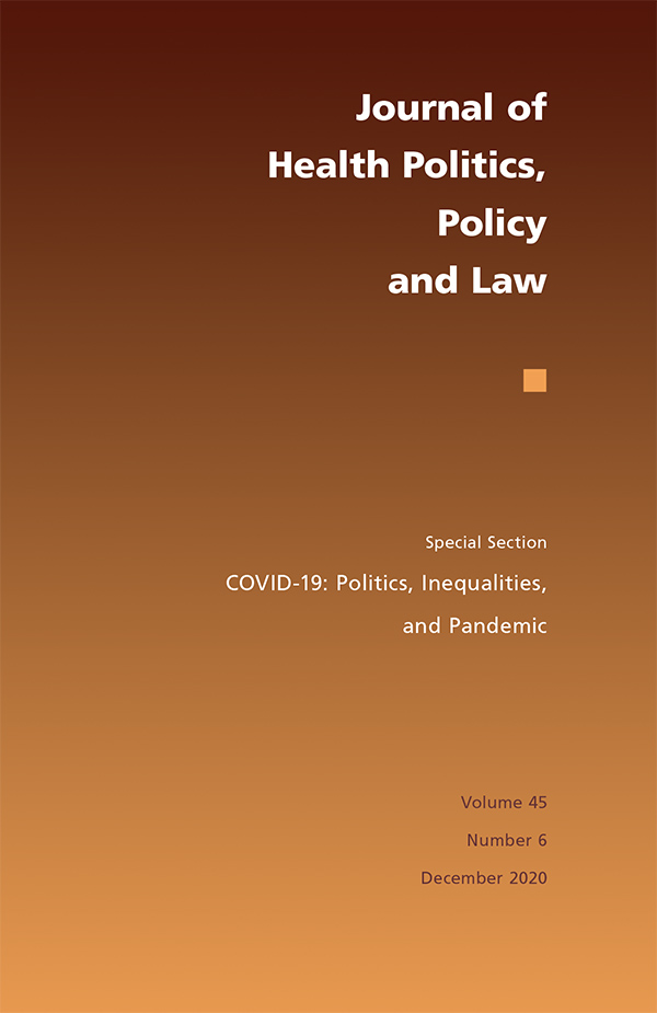 COVID-19: Politics, Inequalities, and Pandemic456