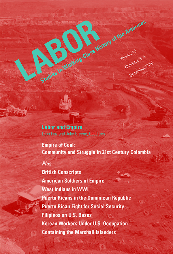 Labor and Empire133-4