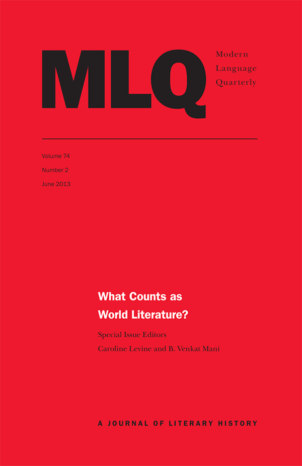 What Counts as World Literature?