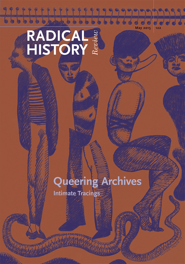 Queering Archives: Intimate Tracings152