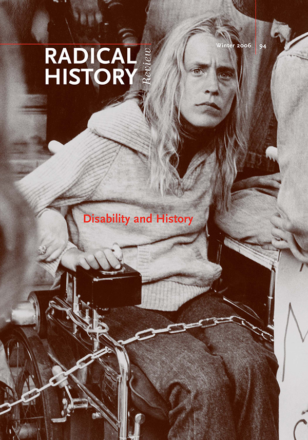 Disability and History694