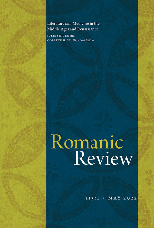 Romanic Review - Featured Journals
