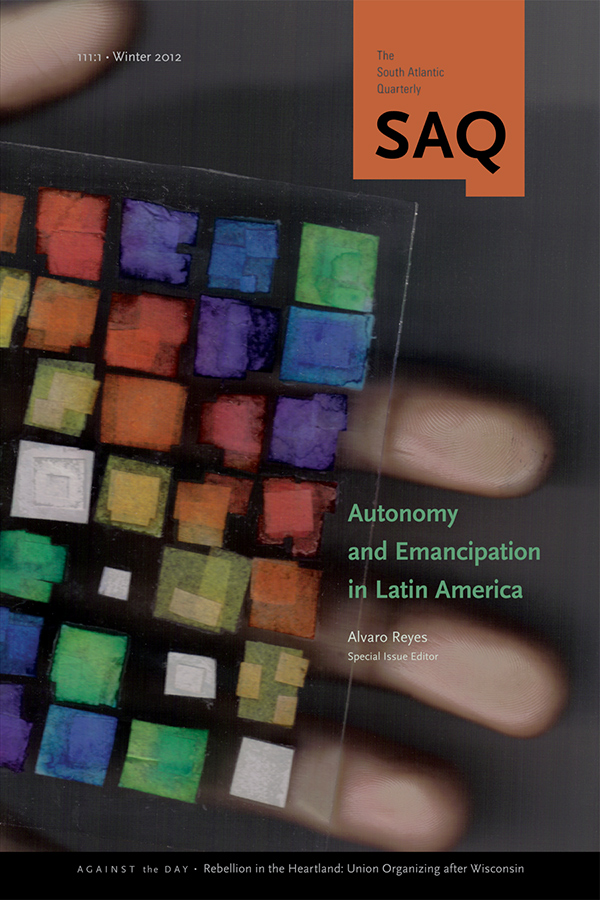 Autonomy and Emancipation in Latin America