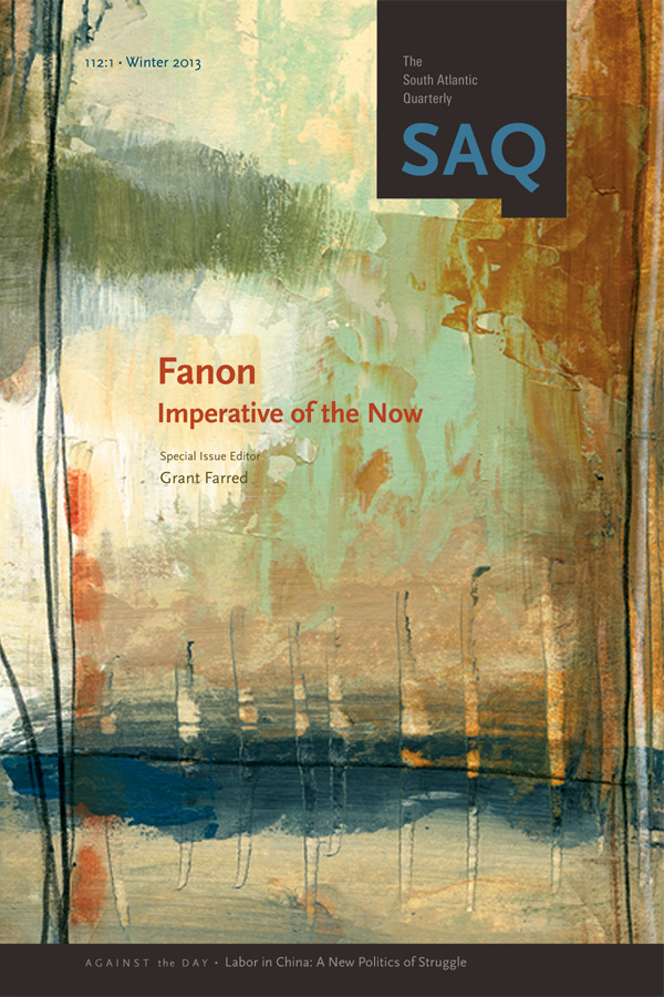 Fanon: Imperative of the Now