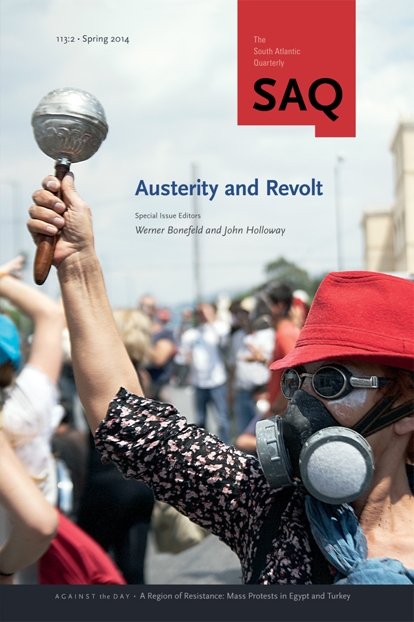 Austerity and Revolt1132