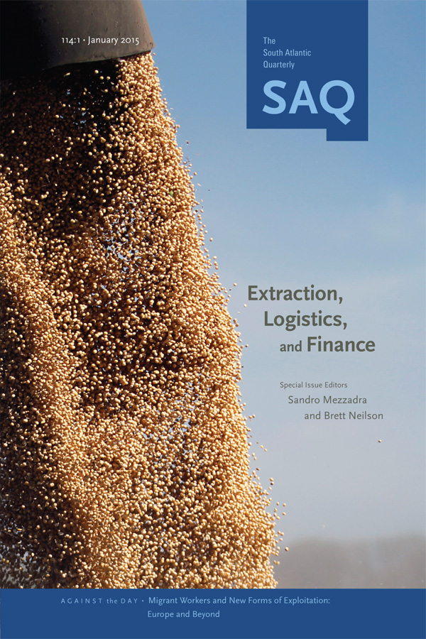 Extraction, Logistics, and Finance1141