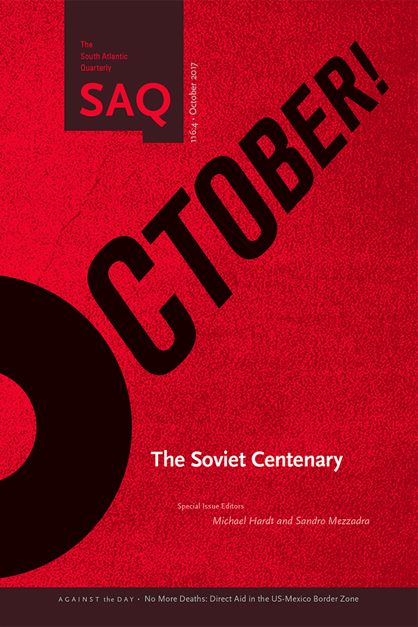 October! The Soviet Centenary
