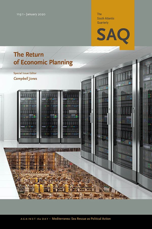 The Return of Economic Planning