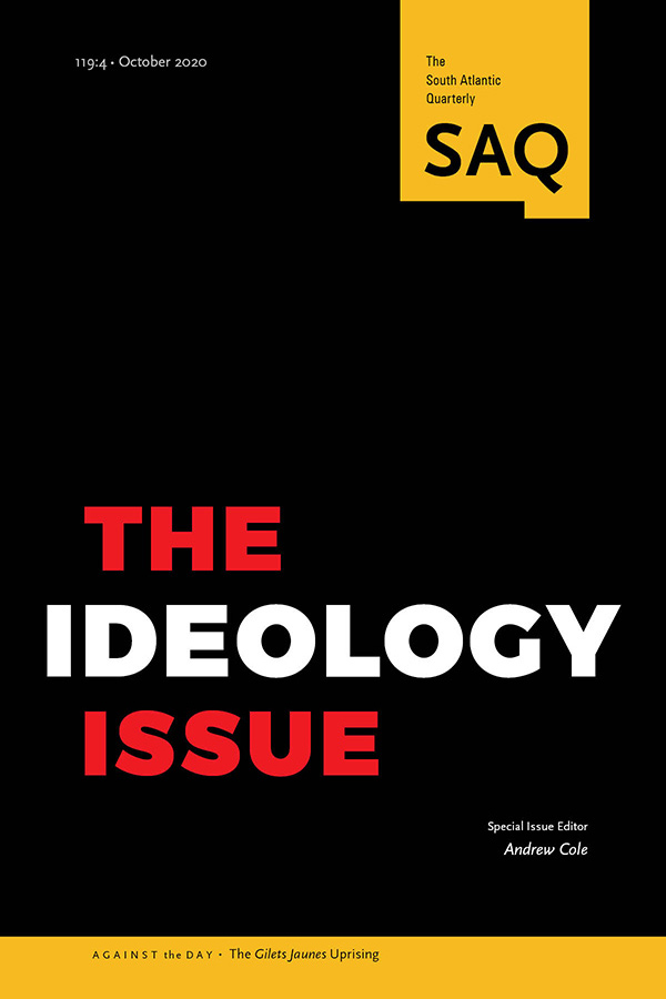 The Ideology Issue - New