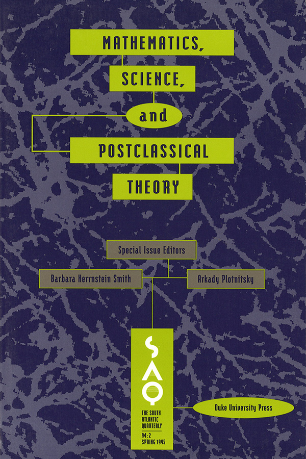 Mathematics, Science, and POSt-Classical Theory