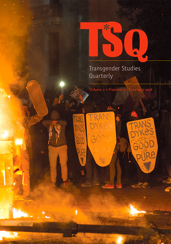TSQ: Transgender Studies Quarterly 5:151