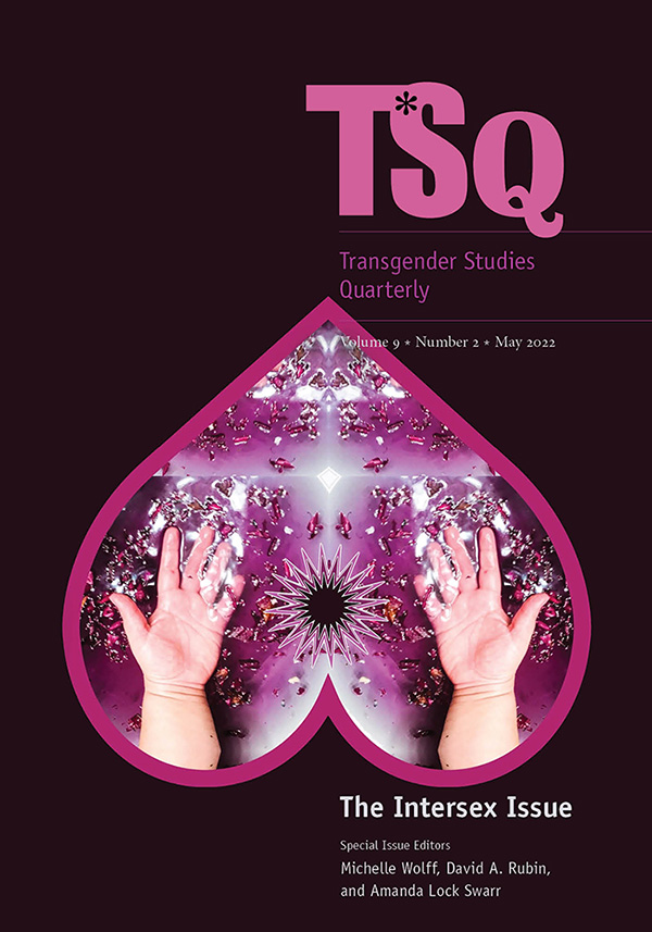TSQ: Transgender Studies Quarterly
